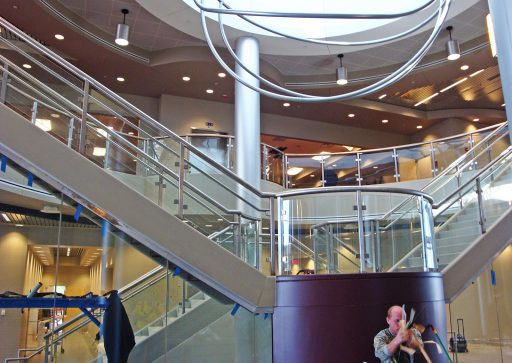 Stair for Mississippi State University Mize Pavilion